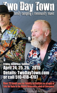 Two Day Town 2015 Poster
